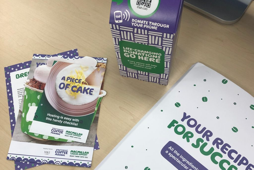 Surrey based Public Relations Agency does Macmillan Coffee Morning